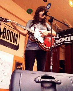 Courtney Barnett @ Sonic Boom Records. Saw this show while studying in UW- so good!