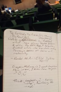 Conferene Notes from my Moleskine