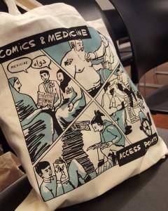 Graphic Medicine Conference tote bag